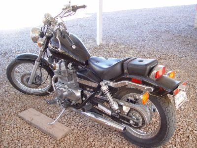 2009 Honda Rebel 250 Black