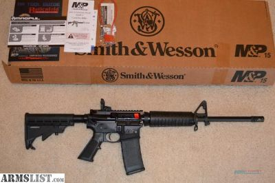 For Sale: Custom Smith and Wesson M&P 15, Sport II bump / slide fire