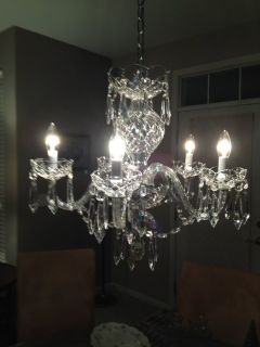 Chandelier Waterford Crystal