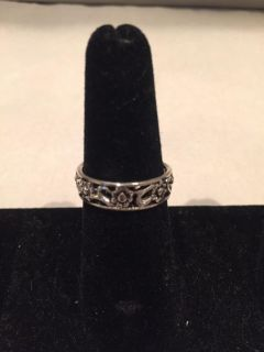 Silver Plated Band size 6
