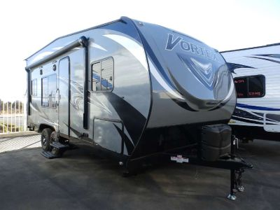2019 Genesis Supreme VORTEX 1914VL, RAMP DOOR PATIO CABLES, SOLID SURFACE COUNTER, FRONT CORNER BED, DUAL REAR SOFAS, REAR ELECTRIC BED, POWER AWNING