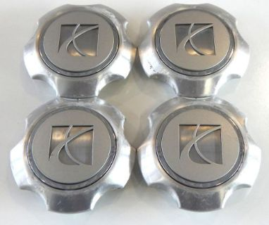 Sell (4) FACTORY OEM SATURN CENTER CAPS HUBCAPS PART # 94710230 STK# T3 motorcycle in Troy, Michigan, United States, for US $48.99