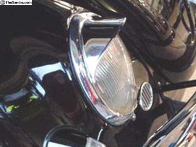 Type 1 Headlight Happich Style Eyebrows