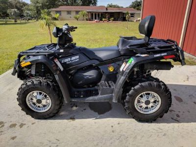 2012 Can-Am Outlander 400 XT Utility ATVs Hialeah, FL