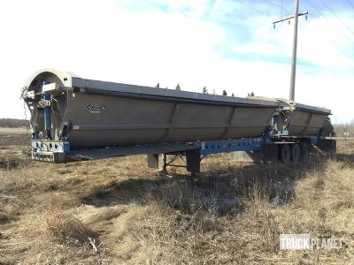 2013 (unverified) Smithco SHVTL350-34 B Train Side Dump Trailer