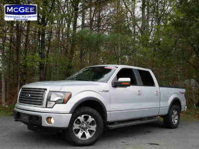 Used 2012 Ford F-150 4WD SuperCrew 157