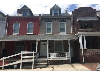 4 Bed 1 Bath Preforeclosure Property in Reading, PA 19602 - S 18th St