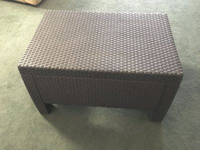 coffee table indoor/outdoor
