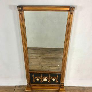 Vintage Gilt Floor Mirror, Full Lenght.