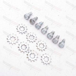 Purchase Corvette NEW Ground Strap Mounting Bolt & Locking Washer Set 1963-1967 motorcycle in Livermore, California, United States, for US $8.99