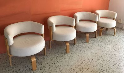 4 Vintage Ikea FRIDENE Chairs