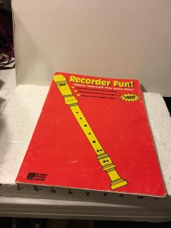 Used Recorder Book (no cassette) 50 pages! $1