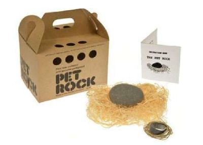 Pet Supplies - PET ROCK (Original Pet Shop Style) Pet Stores