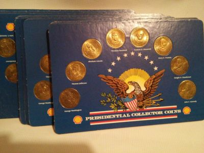 SHELL PRESIDENTIAL COLLECTOR COINS