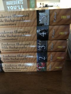 Zondervan Illustrated Bible Commentary Set