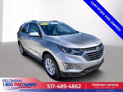 2018 Chevrolet Equinox LT (Silver Ice Metallic)
