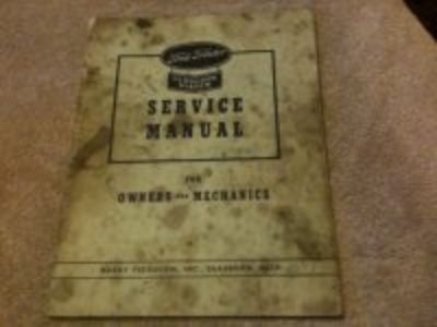 Ford tractor service manual -- vintage 1940's Ford original book