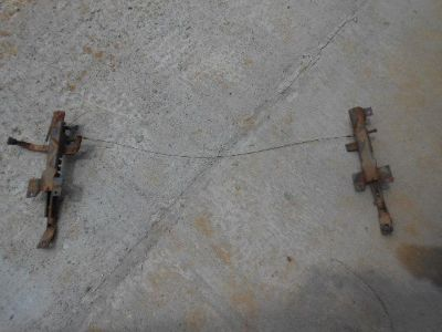 Purchase 1977 Chevrolet truck seat brackets motorcycle in Anderson, Alabama, US, for US $100.00