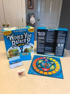 LIKE NEW: Would You Rather? Board Game