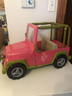 Our generation doll Jeep