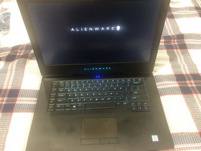 Alienware 15 R3 laptop (with keyboard mouse and headset)