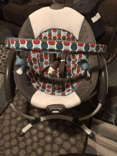 Graco glider lx electric baby swing