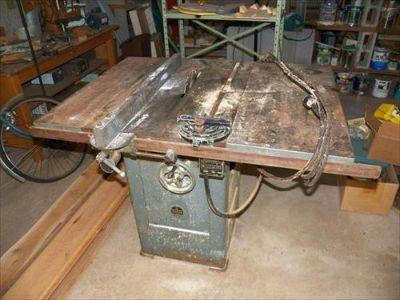 Walker Turner Tilt Arbor Table Saw serial 16_546