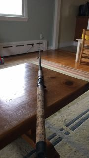International 975, Diawa Costal rod, and courtland fly rod