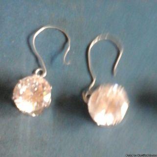 Cubic zirconia earrings