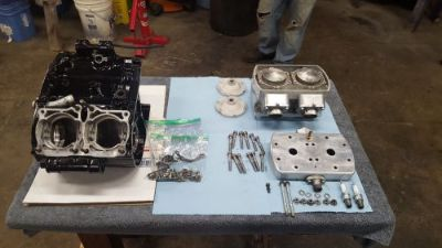 Find banshee Twister small block billet 4mil top end assembly with motor cases motorcycle in Port Orchard, Washington, United States, for US $1,499.95
