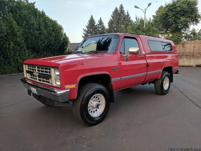 1987 CHEVROLET SILVERADO K30 1 TON 4x4 454 BIG BLOCK FUEL INJECTED AUTOMATIC