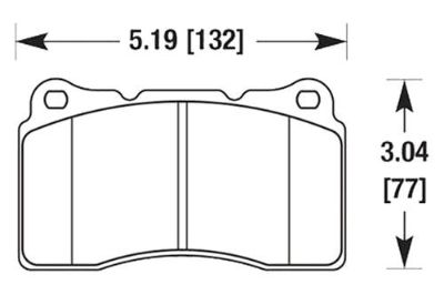Sell HAWK HB453Z.585 - 04-06 Acura TL Front Brake Pads Ceramic motorcycle in Chino, California, US, for US $154.67