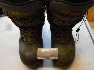 Find KLIM RADIUM GTX BOOTS BLACK/GRAY SIZE 10/EUR 44.0 GORE-TEX 104486 ***USED*** motorcycle in North Adams, Massachusetts, United States, for US $124.95