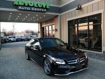 2016 Mercedes-Benz C-Class C 300 Sport (Obsidian Black Metallic)