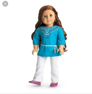 Trtired American Girl Doll Sage's Tunic Outfit