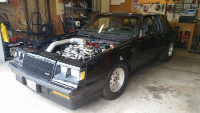 1987 Buick Grand National TURBO SBC!!