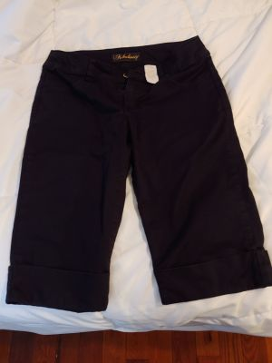 Black stretchy shorts size 3. Like New. $3.00. No holds or trades.