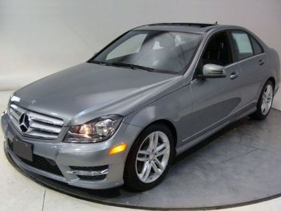 2013 Mercedes-Benz C-Class C300 Sport 4MATIC (Palladium Silver Metallic)