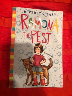 Beverly Cleary Ramona The Pest Paperback Book.