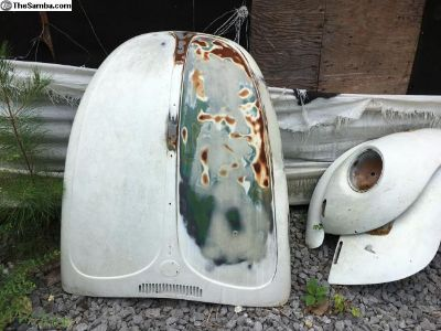 1971-1972 Super Beetle Hood and Fenders