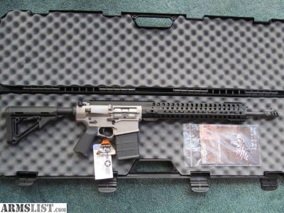 "For Sale: Gen 4 POF P-308 Edge SPR Gas-Piston .308/7.62 AR10 w/ 18.5"" Match-grade barrel BNIB- Never Fired (AR10, AR15, COLT, BUSHMASTER, DPMS, ROCK, ARMALITE, S&W, DANIEL, STAG, LMT, LWRC, SIG, RUGER, PWS, HK, BARRETT, TRIJICON, EOTECH, NOVESKE, MAGPUL, TROY)"