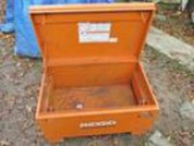 Ridgid Steel Tool Box Chest Storage Truck Garage (Newark)