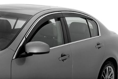 Sell AVS 794004 07-08 Infiniti G35 Front, Rear Window Covers Smoke Seamless Ventvisor motorcycle in Birmingham, Alabama, US, for US $129.13