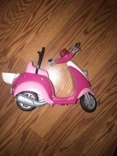 Barbie Scooter.