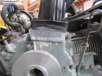 1962 Super 90 engine