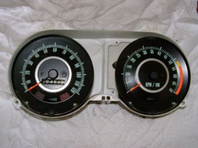 Purchase FACTORY OEM 1967 CAMARO DASH 120 SPEEDOMETER & 7K TACHOMETER TACH RALLY SPORT RS motorcycle in Elyria, Ohio, United States, for US $325.00