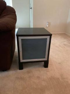(2) IKEA end tables/nightstands