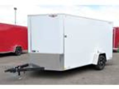 "2019 H&H 7x12 Enclosed 6'6"" Int Cargo - White"