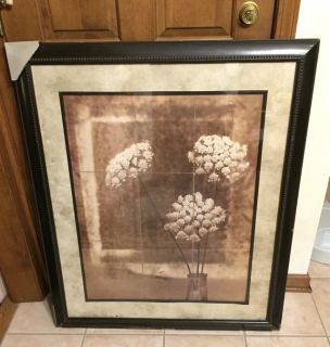 Photo Floral Print Genuine Wood Product by Jan Gauthier