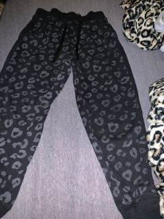Justice pants size 7 see picture was sewed in a small spot